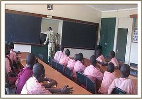 Mwandisha students at the kws education centre