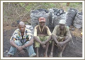 3 of the arrested charcoal burners