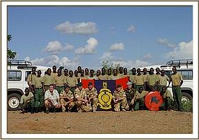 DSWT densarers with the Royal Marines