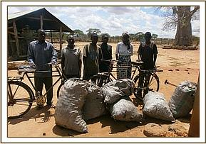 Arrested charcoal burners