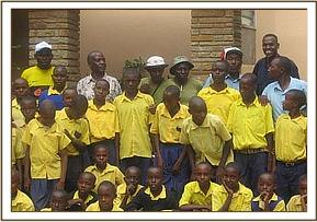 The students at Ngulia lodge