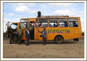 The bus used on the field trip