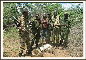 A poacher arrested in Chamanyenzee
