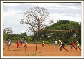 Weekend football match at kasaala grounds