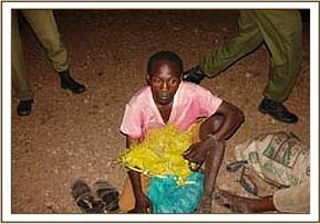 Arrested Miraa picker