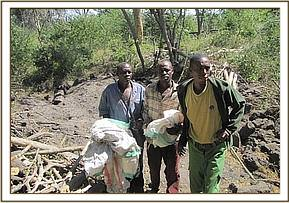 Arrest of charcoal burners with snares