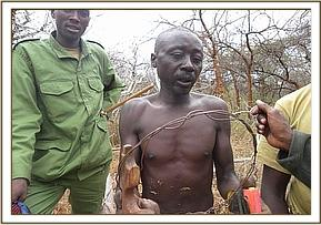 Arrested poacher