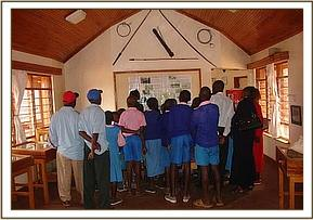 Nguluni primary at the education center