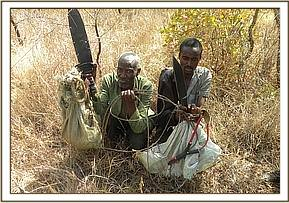 arrested bush meat poacher