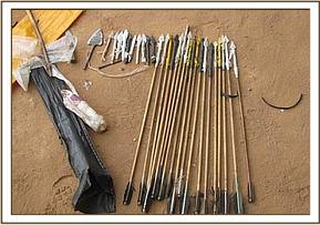 28 poison arrows & poison recovered from arrest