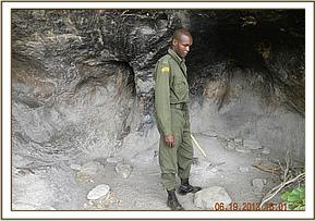 Poachers hideout at Tharakana area