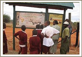 Victory primary at Rhino sanctuary