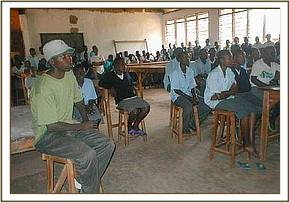 Conservation education at Mwabiti high school