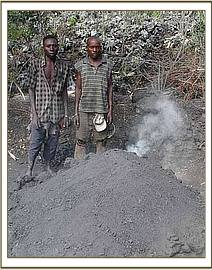Two more arrested charcoal burners