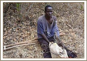 Poacher arrested in possesion of snares