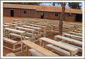50 desks donated by DSWT to school