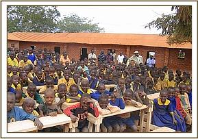The donation of desks