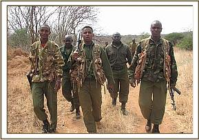 Joint operation with the Ziwani team