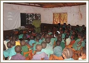 Ikanaga primary students enjoy the film show