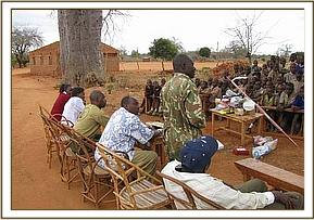 Chief thanks DSWT for helping the community