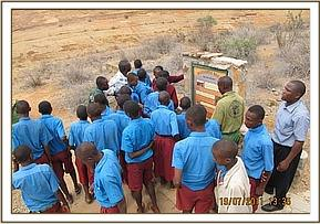 Sowa pupils visit the mudanda rock