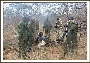 Poachers caught by the KWS Dog Unit & Trust Team