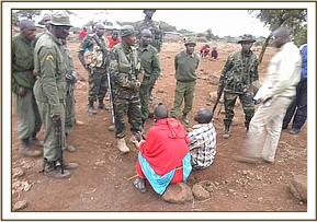 Poachers arrested at Njukini area