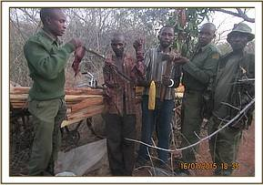 Arrested loggers in the Triangle