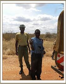 Arrest of a poacher