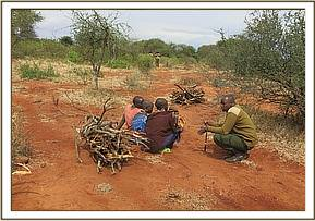 Underaged maasai girls arrested collecting wood