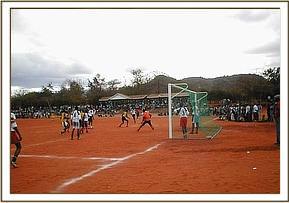 One of the football matches