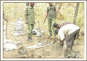 Arrested charcoal burner ,kikunduku area