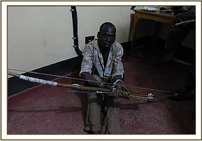 The illegal poacher found at Bisadi area