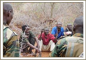TEAMS MANAGED TO ARREST FOUR POACHERS IN GAZI ARE