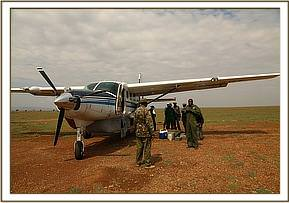 The rescue team arrives in the Mara