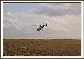 Abflug nach Nairobi
