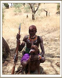 Loponu the Samburu scout who watched over the orphan