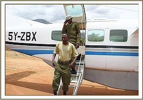 The rescue Team arrives at Wamba