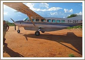 Tundani's rescue plane