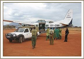 The DSWT sends a rescue plane for the orphan