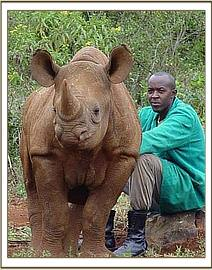 A very fat Shida with his Keeper Stephen