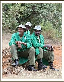 Keepers in the bush