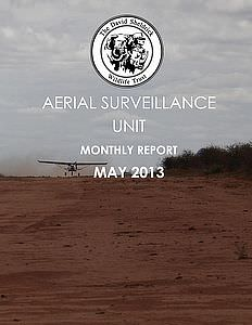 Aerial Survelliance Report for May 2013