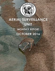 Aerial Survelliance Report for October 2016