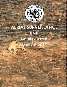 Aerial Survelliance Report for March 2015