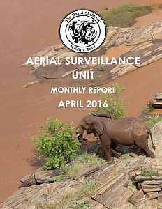 Aerial Survelliance Report for May 2016