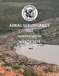 Aerial Survelliance Report for March 2014
