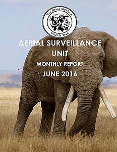 Aerial Survelliance Report for June 2016
