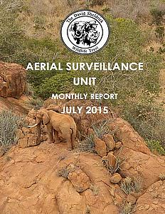 Aerial Survelliance Report for July 2015