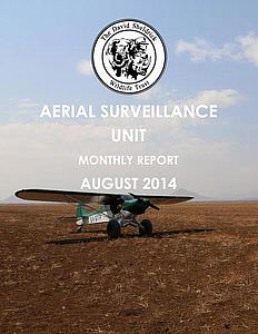Aerial Survelliance Report for August 2014